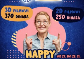 Najava Happy cinema weekenda u Areni